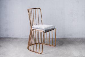 Krzesła metalowe i designerskie